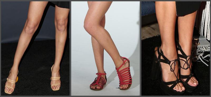 Selena Gomez feet legs